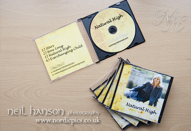 CD Album Cover Photography & Design