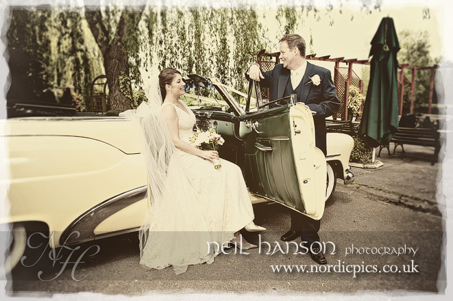 Contemporary Unique Vintage Wedding Photography by Neil Hanson