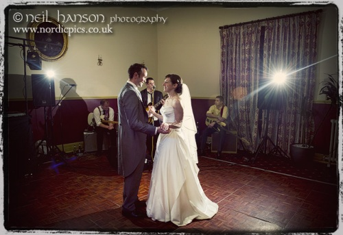 Bride & Grooms first dance at Bisham Abbey Berkshire by Neil Hanson Photography