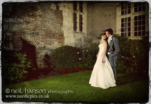 Unique Wedding Photography for Bisham Abbey by Neil Hanson
