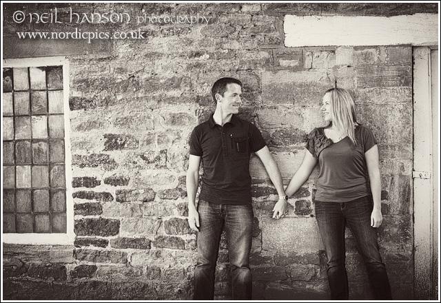 Neil Hanson Wedding & Portrait Photographer for Oxfordshire provides fun creative engagement photography