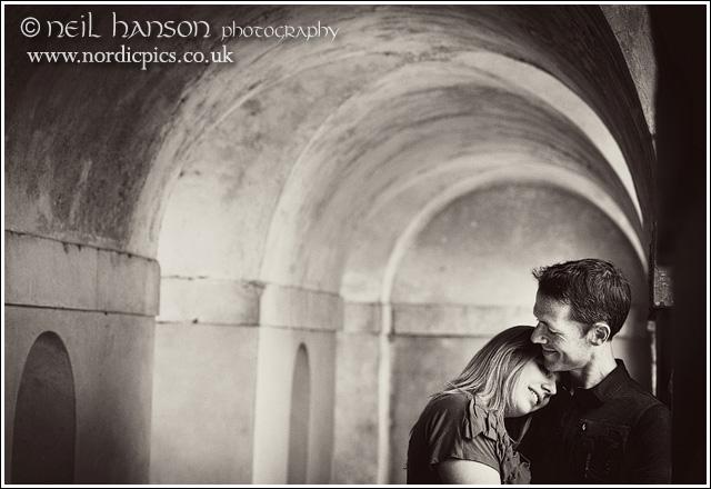Neil Hanson Wedding & pre-Wedding Portraits at Rousham Gardens in Oxfordshire