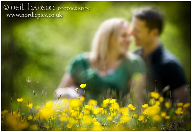 Creative, Romantic, Engagement Portraits in Oxfordshire by professional photographer Neil Hanson