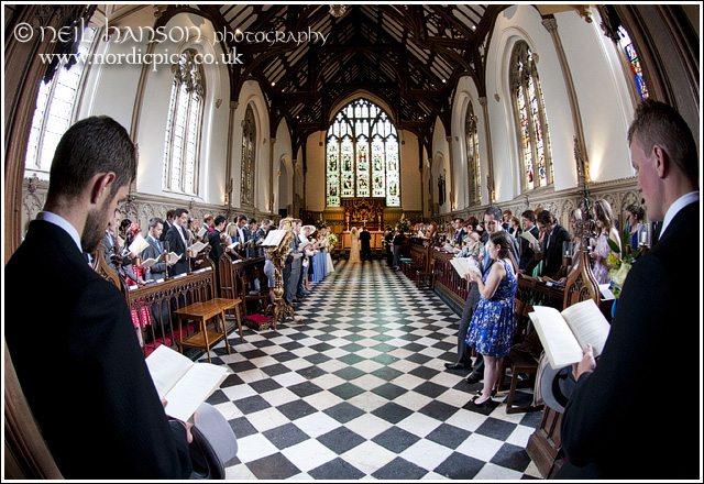 St John's College Chapel Wedding
