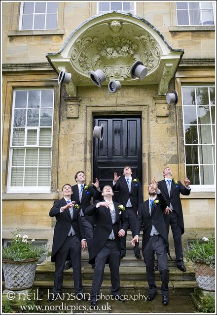 Groom & Groomsmen at St John's College Oxford