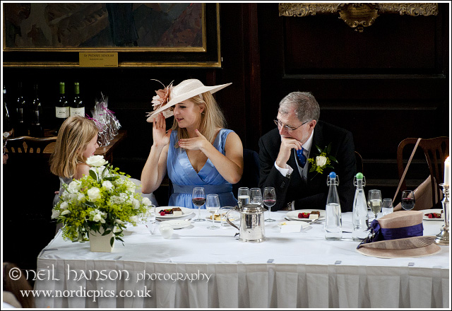 wedding breakfast at st john's college oxford