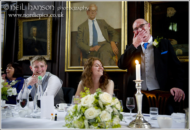 wedding speeches at st johns college oxford