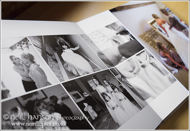 Caswell House Wedding Albums by Neil Hanson photography