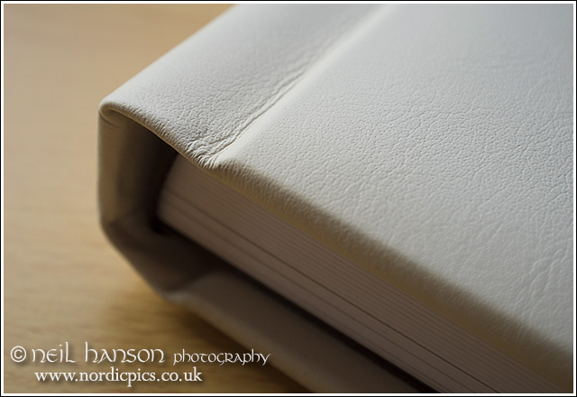 Quality genuine leather wedding albums by neil hanson photography