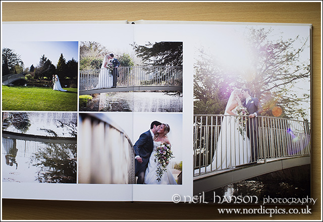 Beautiful high quality Caswell House Wedding Photography & albums by neil hanson