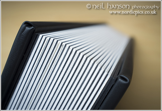 quality wedding albums by neil hanson photography