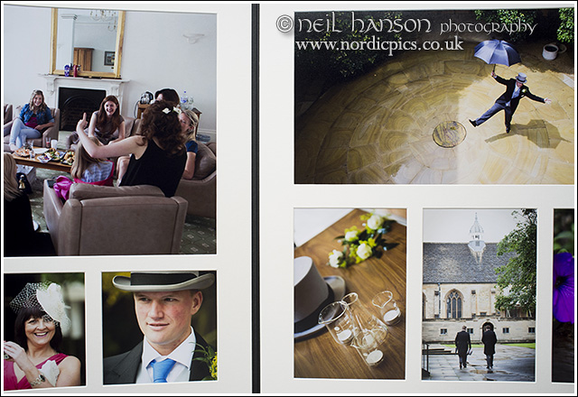 matted wedding albums by neil hanson photography