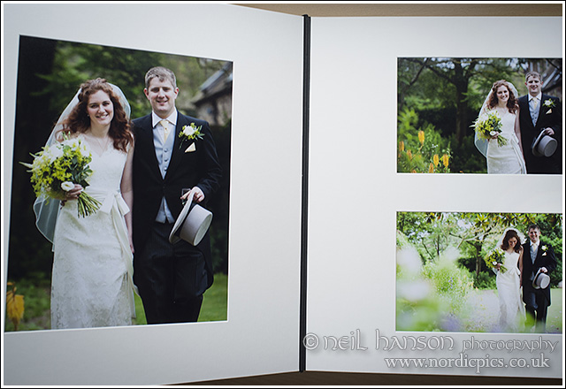 Apertura Wedding Albums by Neil Hanson Photography