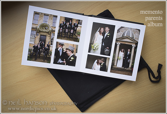 Parents Albums from grace & stephens wedding at st johns college oxford